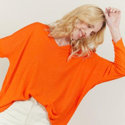 Flamed linen T-shirt - Balou