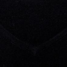 Pull col V en cachemire intemporel - Eniva 6310 noir - 01 Noir