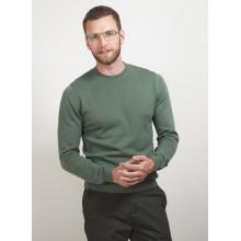 Round neck cotton cashmere sweater - Burton