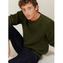 Wool silk raglan sleeves sweater - Bolide