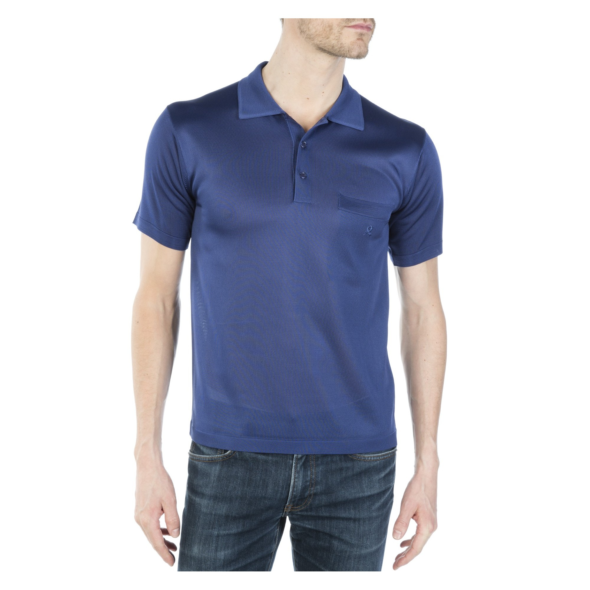 Man's polo of quality made of fil lumiere