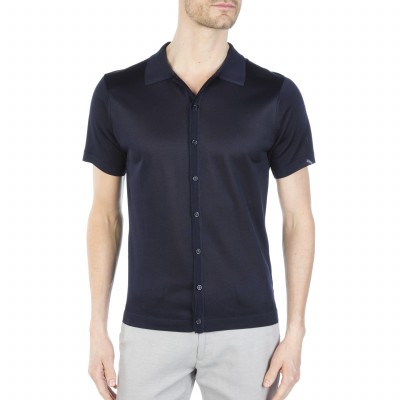 Short sleeves shirt made of Fil lumière Brice