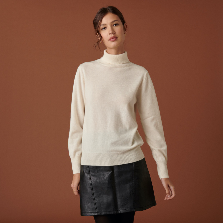 Cashmere turtleneck sweater - Abesse