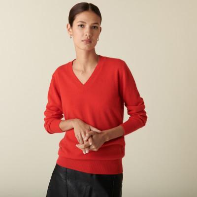 V-neck cashmere sweater - Abel