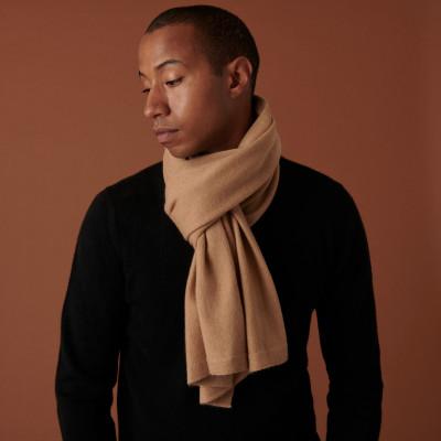 Unisex cashmere scarf - Aron