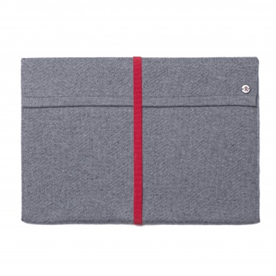 Wallet for iPad made of cotton and cashmere Montagut