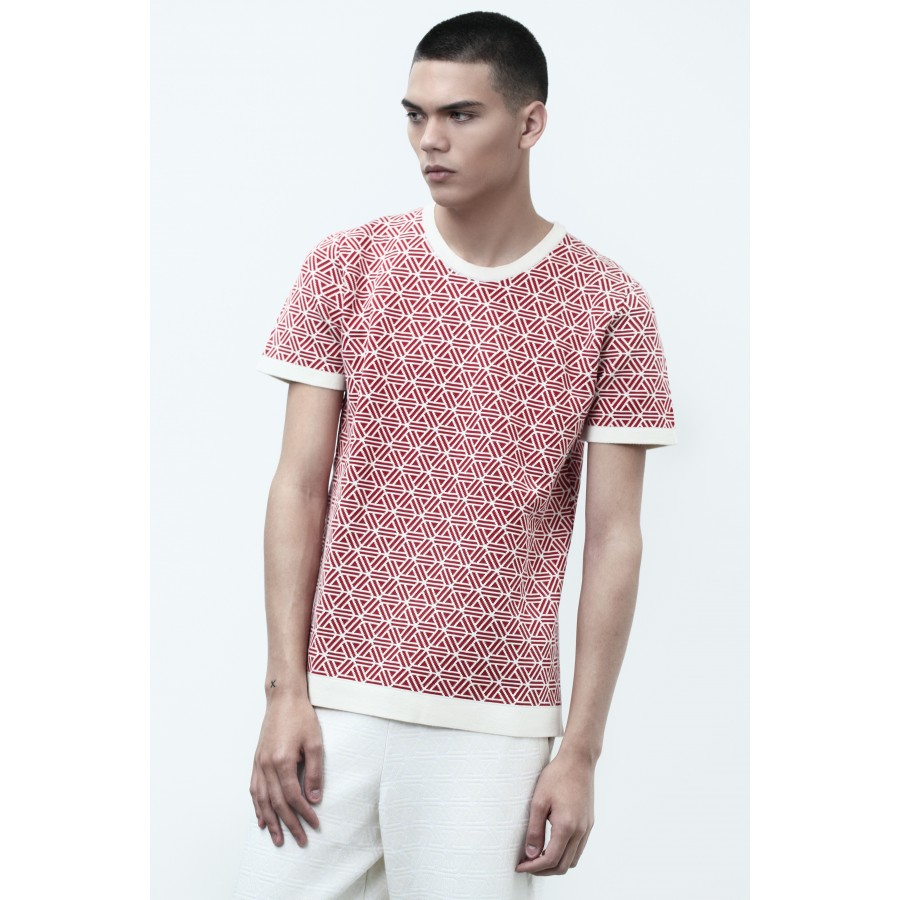 T-shirt manches courtes Homme Capsule rouge