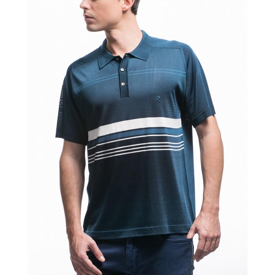 Stripped polo shirt Fil Lumière Kylian
