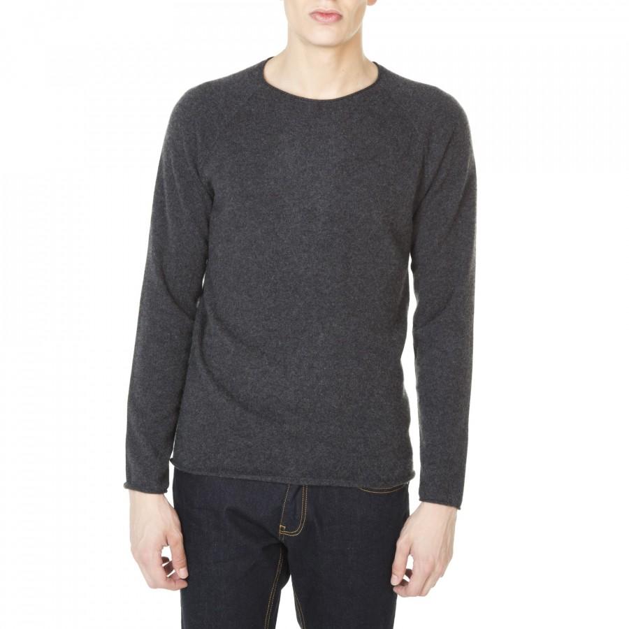 Round neck cashmere sweater for men Jérémie