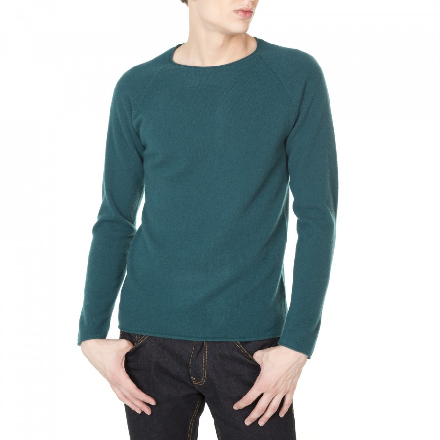 Round neck cashmere sweater for men Jérémie