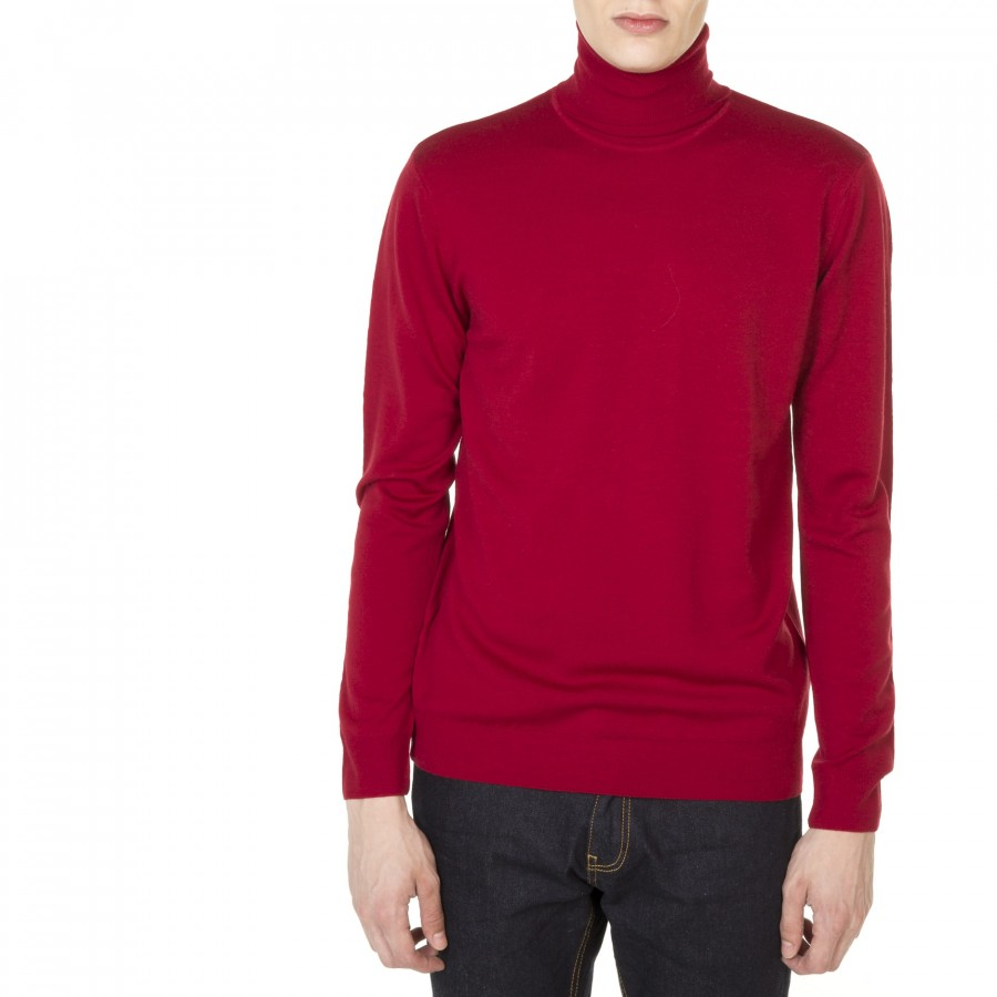 Woolen turtleneck sweater Emile