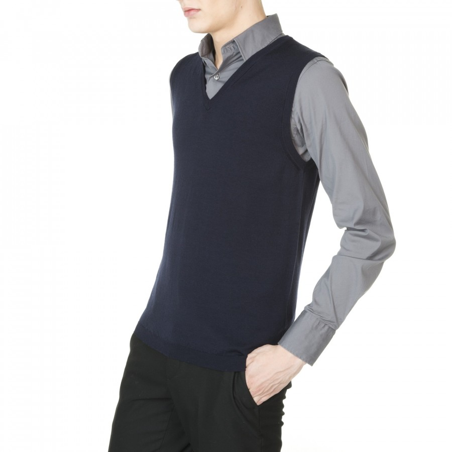 Man sleeveless sweater Estève