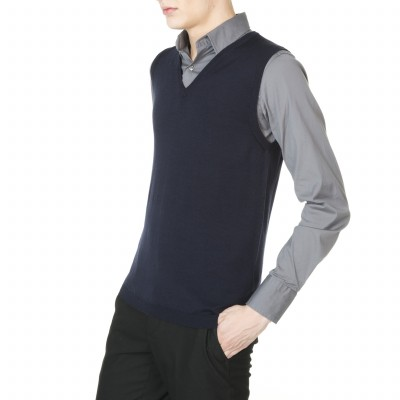 Man sleeveless sweater Barthy