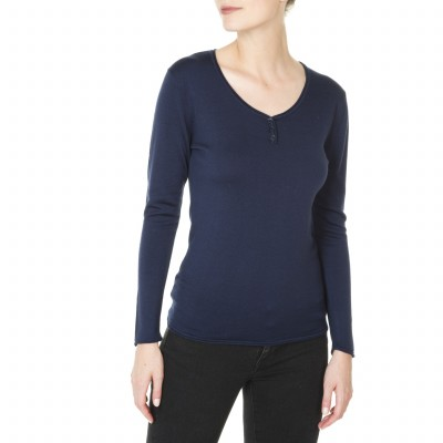 Button-down collar sweater for women Jasmine