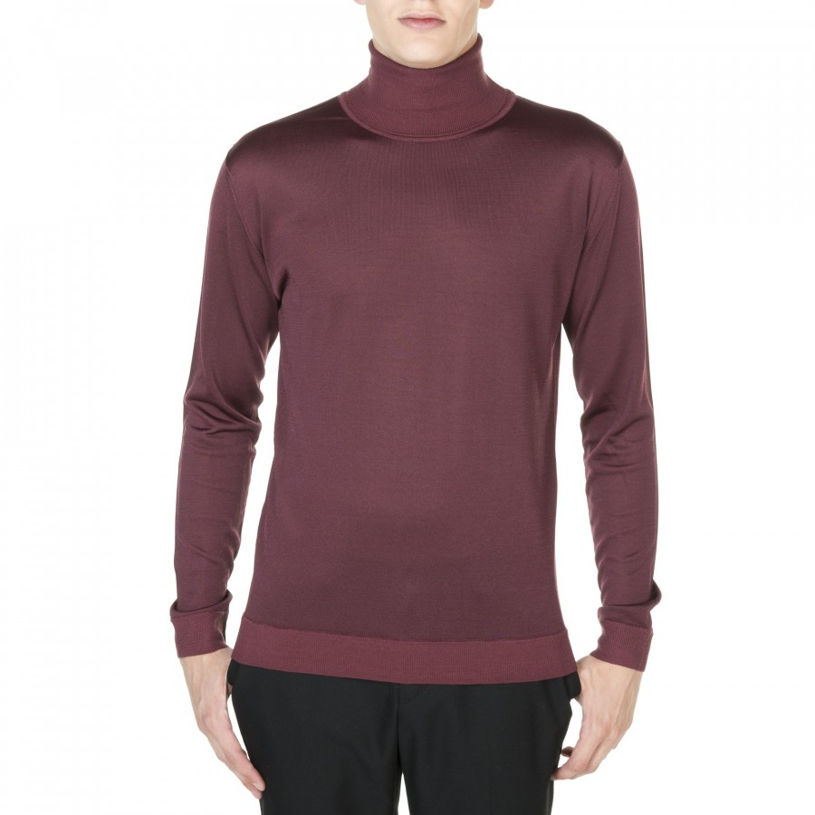 Woolen neck sweater Jonah
