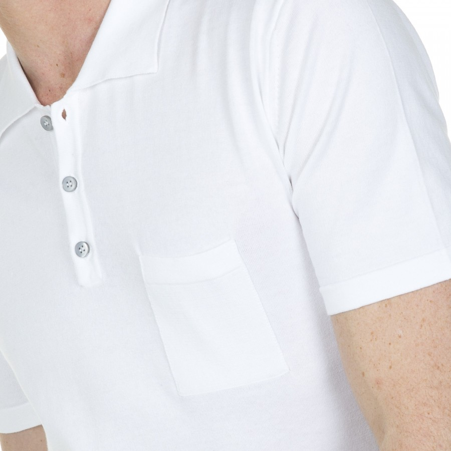 Man 100% cotton short sleeve polo shirt Balbine