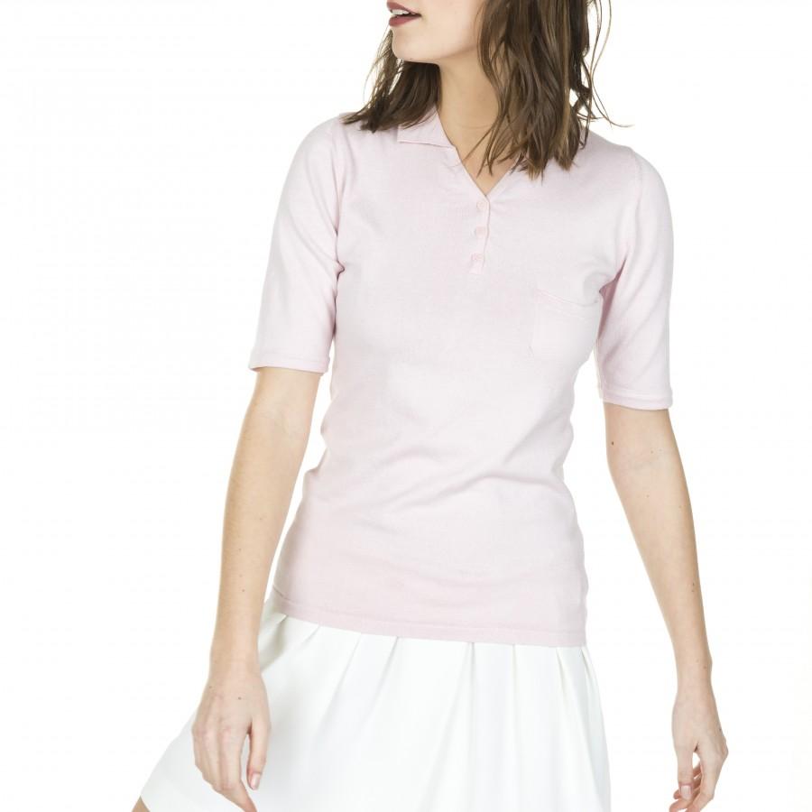 Polo coton manches courtes femme Filomene