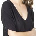 T-shirt manches courtes en soin lin Kaissy