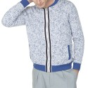 Bombers homme en coton Lionel 6013 gris chine clair - 11 gris clair