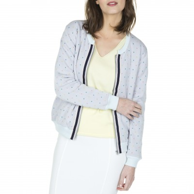 Women's cotton bombers Laurette