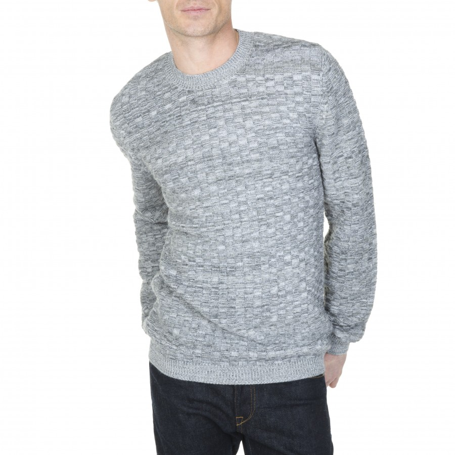 Cotton and wool crew neck sweater Lucas