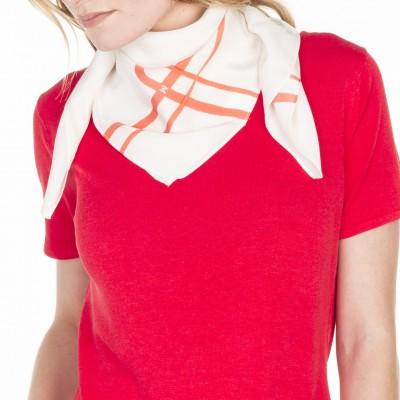 Silk scarf Lucette