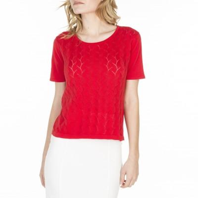 T-shirt manches courtes en coton Louane