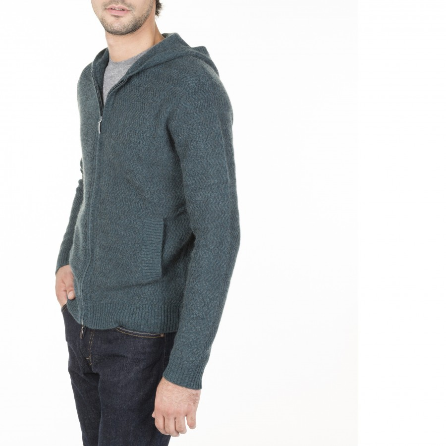 Hooded Cashmere Vest Maxime