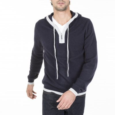 Cashmere Hooded Sweatshirt Marc Olivier