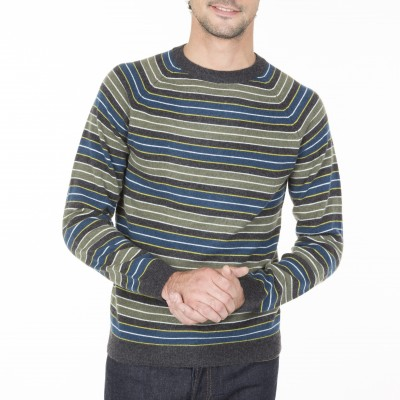 Cashmere Striped Sweater  Melvin