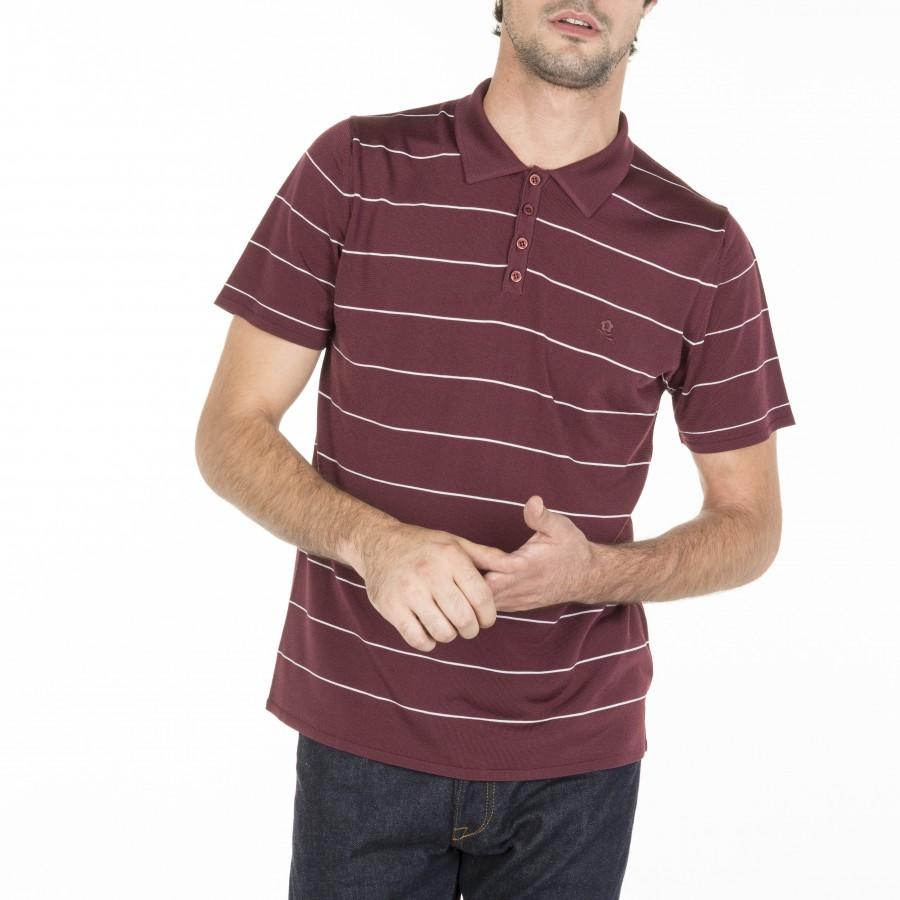 Striped Polo Shirt Léon