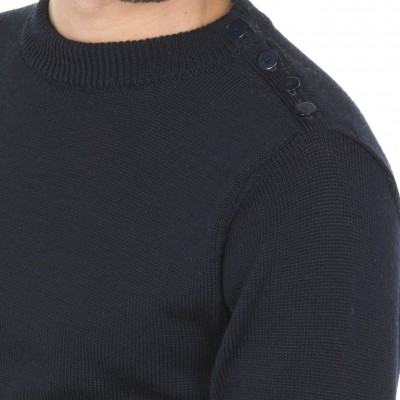 Wool Crew Neck Sweater Martial