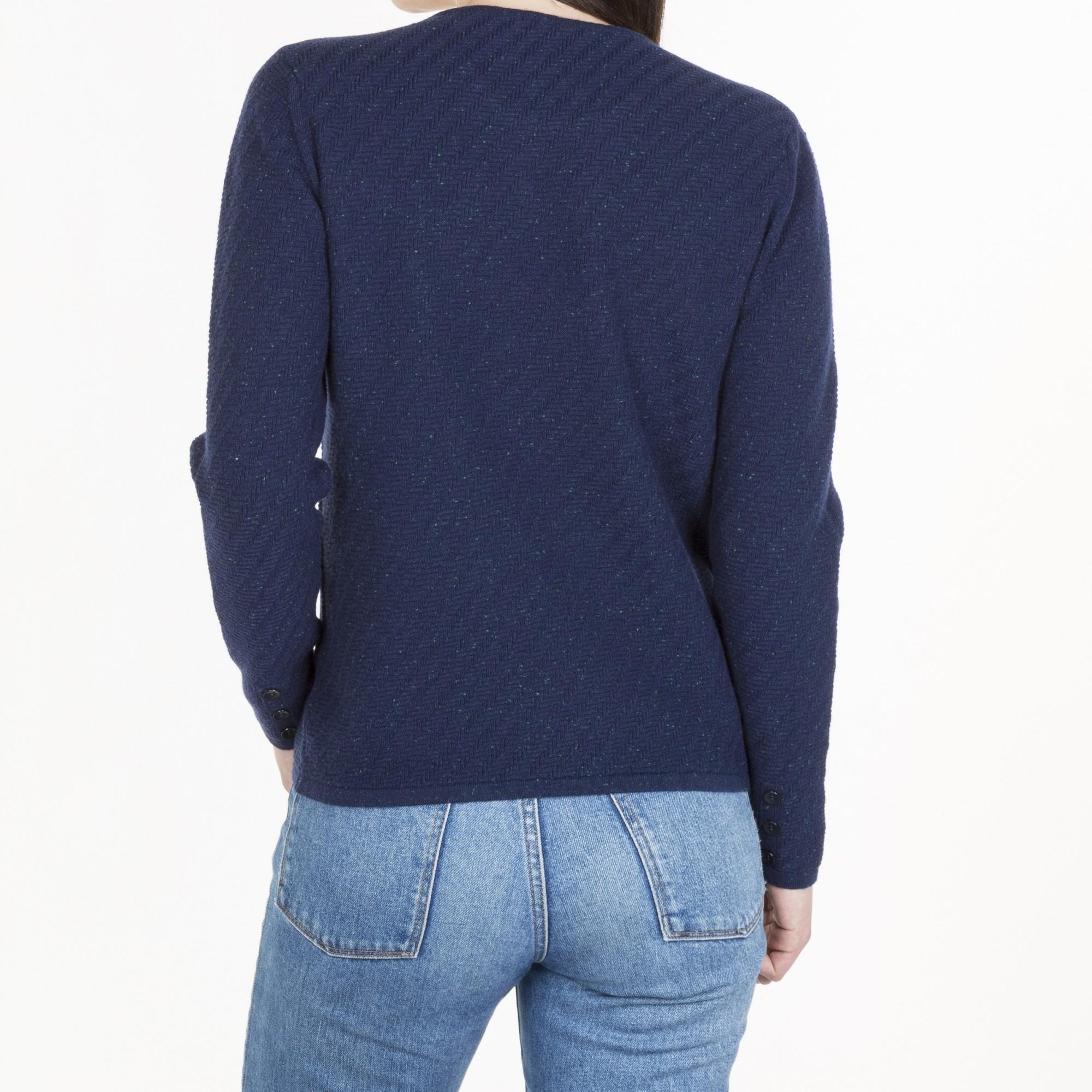 Spotted Fancy Sweater Muriel - Maison Montagut 1ddf816e3