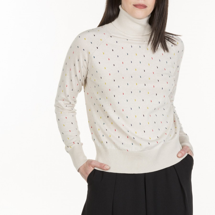Pull col montant Magali