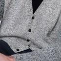Gilet bicolore en coton Benoît