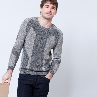 Cotton graphic sweater Béranger