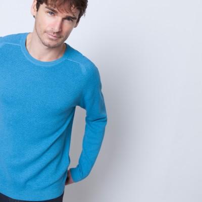 Cashmere cotton crew neck sweater Bradley
