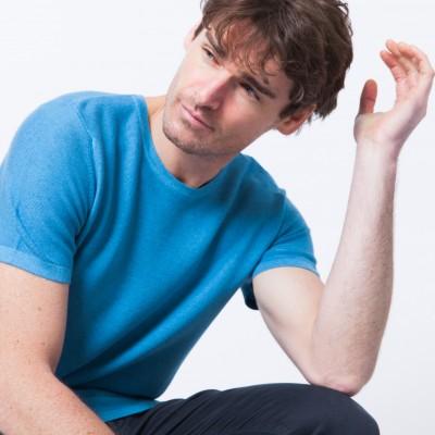 T-shirt en coton cachemire Bob