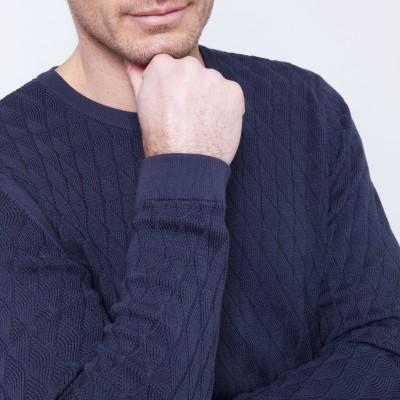 Fancy cotton sweater Brady