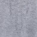 T-shirt motif triangle Anna 6213 Gris chiné clair - 11 Gris clair