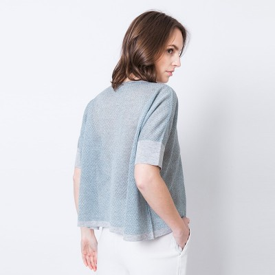 T-shirt femme à motif graphique Auriane