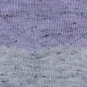 Top femme bicolore sans manches Anya 6291 Chardon gris chiné clair - 16 Violet clair
