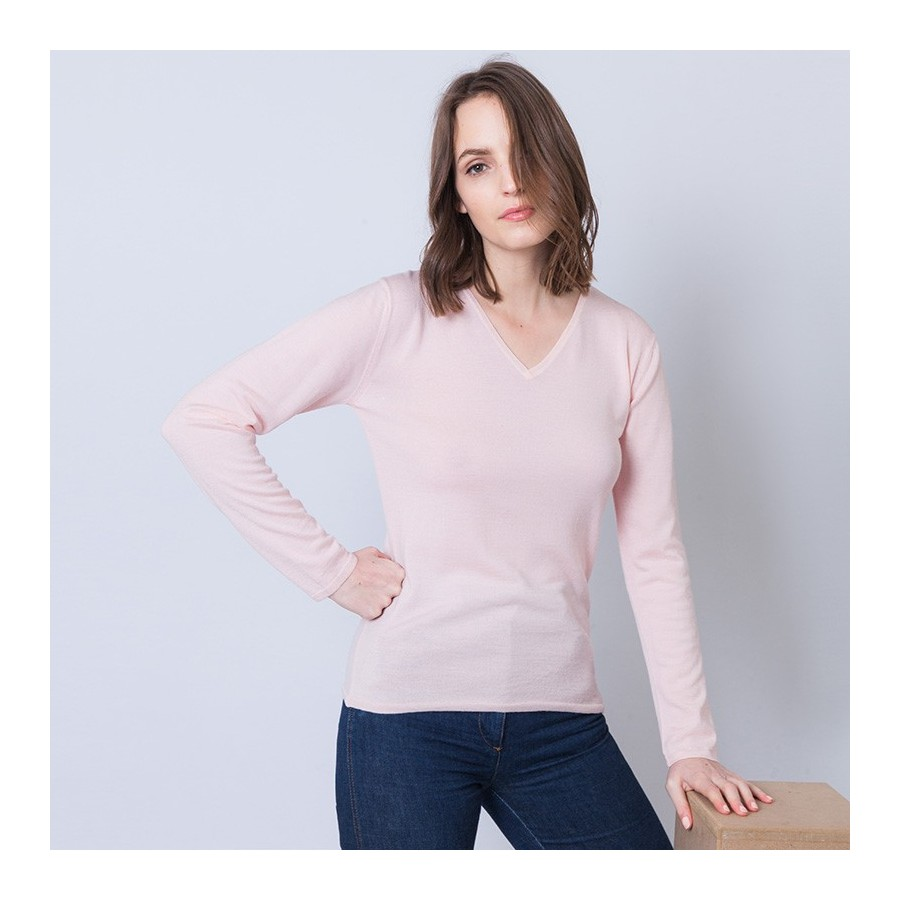 Women's wool and silk sweater Ahmed