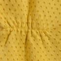 Blouse volantée à pois Armel 6260 Mimosa - 08 Jaune