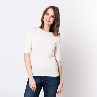 Cashmere elbow sweater Juliette