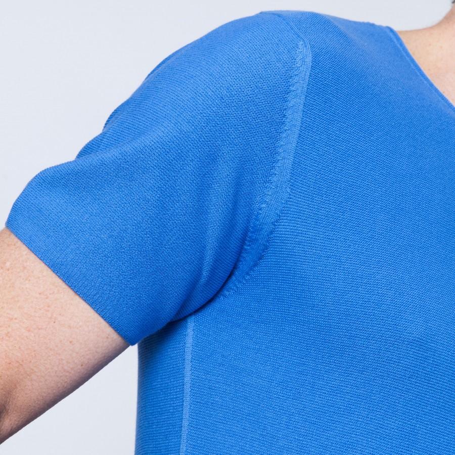 T-shirt manches courtes en coton Barry 6245 boreal - 77 bleu ciel