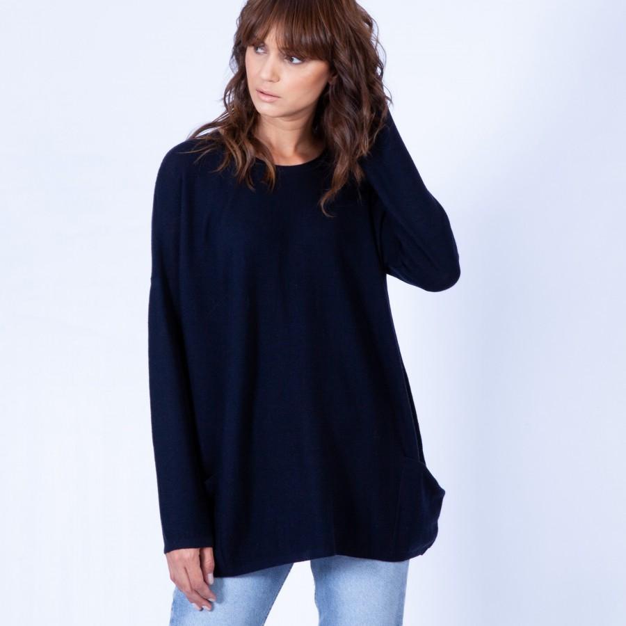 Oversized wool jumper – Gina