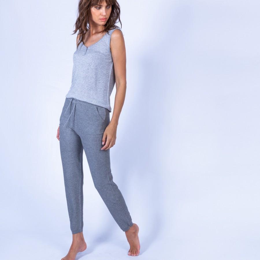 Pantalon d'intérieur - Hisayo 6344 Rafale - 09 gris moyen