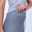 Pantalon en coton cachemire