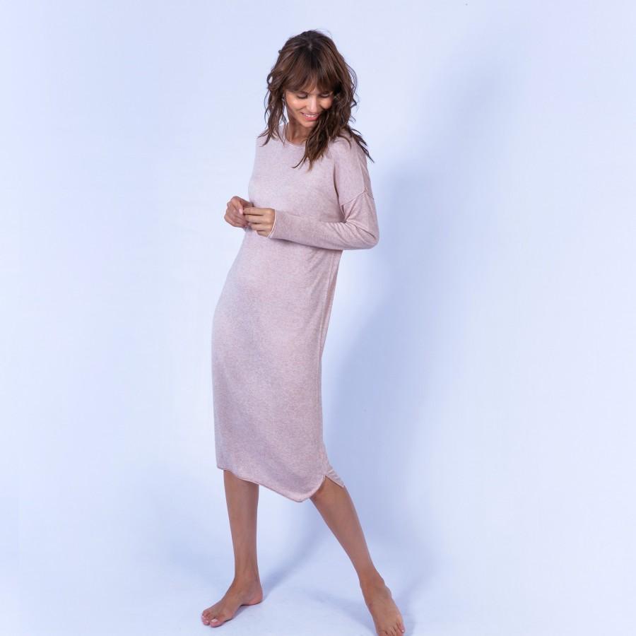 Bamboo cashmere indoor dress – Hina